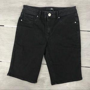 1822 Bermuda short black denim size10